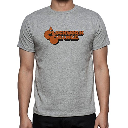 O Clockwork Orange Poster Orange Two Herren T-Shirt Grau