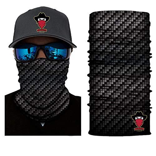 Preisvergleich Produktbild [ 44 Designs ] Bedrucktes Multifunktionstuch Bandana Halstuch Kopftuch: Face Shield aus Mikrofaser - Material ist flexibel und atmungsaktiv - Maske fürs Motorrad-,  Fahrrad- und Skifahren