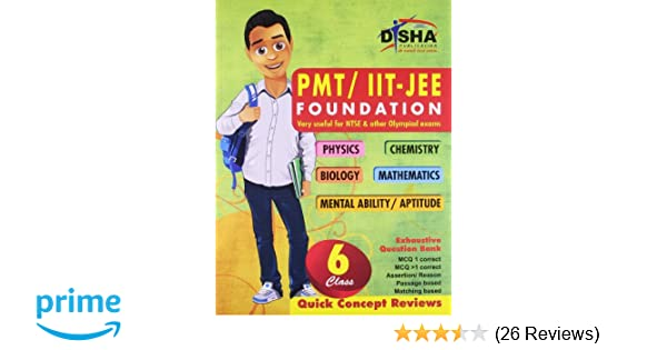 PMT/IIT: JEE Foundation for Class 6 Physics/chemistry