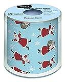 Papel higiénico (Topi Dancing Santas) Navidad Invierno Nieve Animales Bosque Muñeco de nieve Merry Christmas