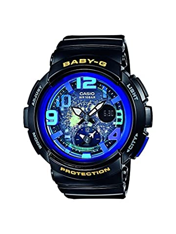 Casio Baby-G - Damen-Armbanduhr mit Analog/Digital-Display und Resin-Armband - BGA-190GL-1BER