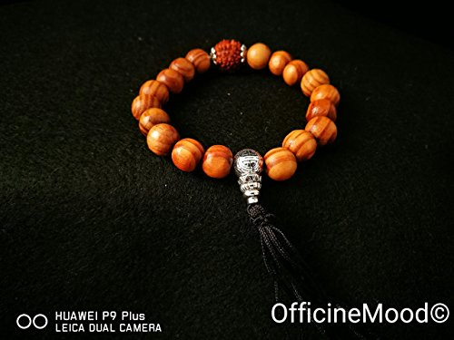 braccialetto-mala-buddista-bodhi-legno-e-seme-di-rudraksha