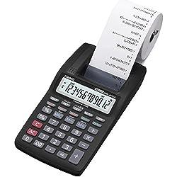 Casio HR-8TEC-BK Boîte Calculatrice imprimante professionnelle Noir