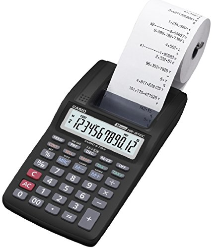 Casio CSCALHR8TEC Calculatrice imprimante portable