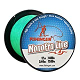 Best Bass Fishing Lines - FISHINGSIR High Impact Monofilament Fishing Lines for Bass Review