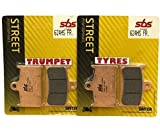 Triumph Rocket III 3 Touring 2300 2013-2014 Front SBS Performance Fast Road Sinter Sintered Brake Pads Set OE Quality 624HS
