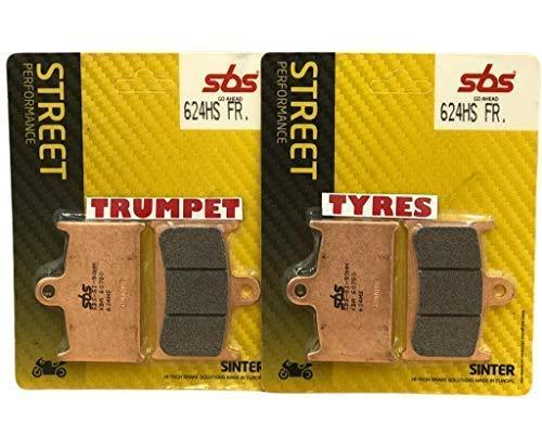 Triumph Sprint st 1050 05 06 07 08 09 10 11 avant SBS Performance Route Rapide Frittage Plaquettes Frittées Frein Set Qualité Fabricant 624hs