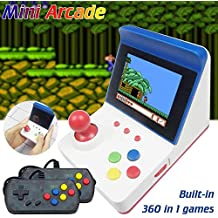 CRD PRODUCTS RS-12 Portable Game Console Built-in 320 Games Dual-handled Arcade Coin Operated Amusement Handheld Game Machine