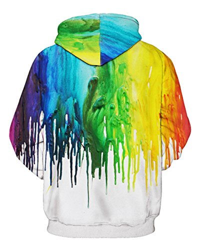 FOURSTEEDS Damen Sweatshirt Colorful Painting