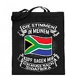 Chorchester Für alle, die Südafrika lieben! - Jutebeutel (mit langen Henkeln)