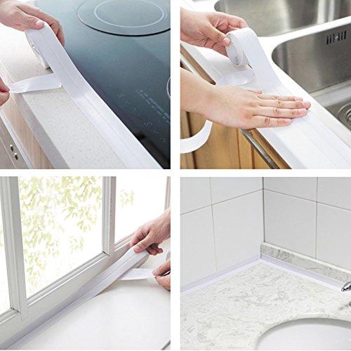 Preisvergleich Produktbild Küchen-Wanduhr mit Klebeband, wasserdicht, mit Klebeband.