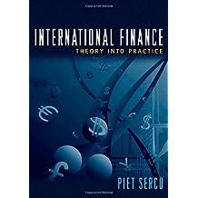 International Finance: Theory into Practice by Piet Sercu (2009-03-22)
