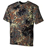 MFH US Army Herren Tarn T-Shirt (Flecktarn/XXL)