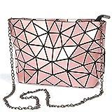 T-Tosney Femmes célèbres sac à main sacs à main géométriques à carreaux bandoulière bandoulière sacs sac de diamant laser 6