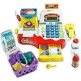 Caja registradora de juguete para niños - Rojo