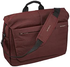 "Samsonite Mallette Network 2 Laptop Messenger 16"" 16.5 Liters Rouge (Ionic Red) 51894"
