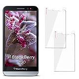 moex 2X BlackBerry Z30 | Schutzfolie Klar Display Schutz [Crystal-Clear] Screen Protector Bildschirm Handy-Folie Dünn Displayschutz-Folie für BlackBerry Z30 Displayfolie