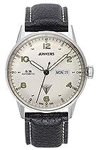 Junkers Herren-Armbanduhr Analog Automatik Leder 69664