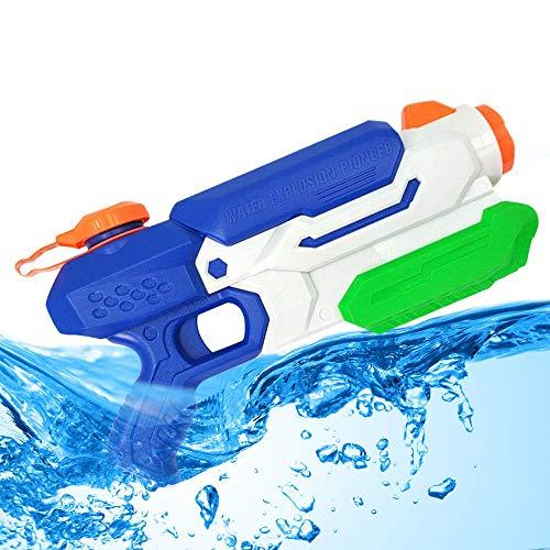 Packfun Wasserpistole Supersoaker Wasserpistole mit Großer Reichweite Wasserspritzpistolen Wasserblaster für Kinder und Erwachsene Sommer Schwimmbad Spiel Strand Sand (Pull-Typ)