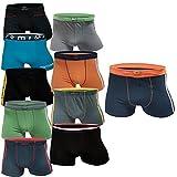 5 10 Stück Boxershorts Jungen Unterhosen Unterwäsche Kinder (M, 10.Stück)