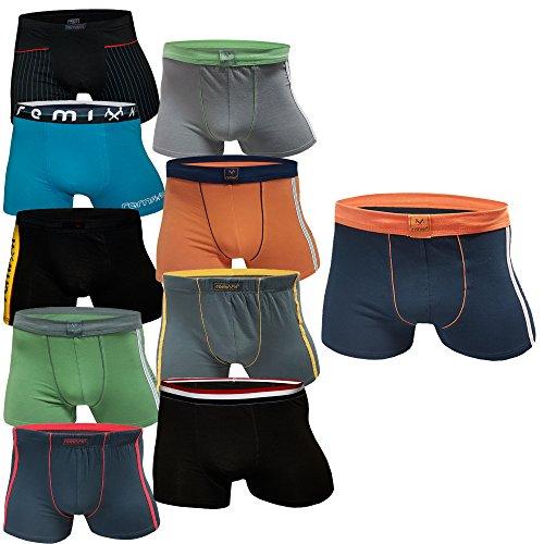 5 10 Stück Boxershorts Jungen Unterhosen Unterwäsche Kinder (XL, 10.Stück)