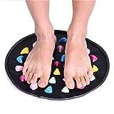 Lnlyin massaggio ai piedi escursioni Mat dolore alleviare riflessologia massaggiatore tappetino Pad mini pietra