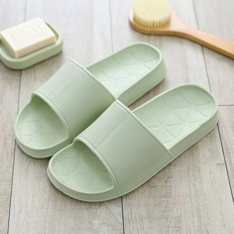 Gemütlich Badezimmer Paar Haus mit coolen Pantoffeln weiblich Dick Anti-Rutsch Bad Schuhe Sommer Haus Haus Hausschuheö