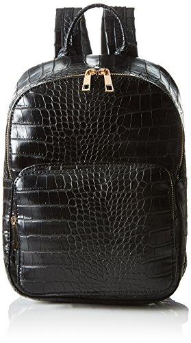 Vero Moda Damen Vmcroca Backpack Tornistertasche, Schwarz (Black), One Size