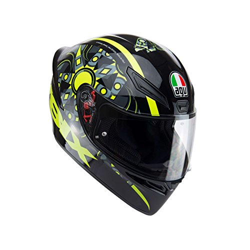 Preisvergleich Produktbild AGV 0281A0I0_003_L K1 E2205 Helm TOP- FLAVUM 46, Gelb, Größe L