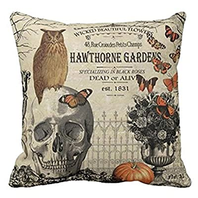 Pillow Case, KEERADS Halloween Sofa Bed Home Decor Cushion Cover produced by KEERADS - quick delivery from UK.