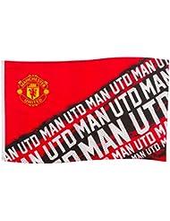 Manchester Utd United FC l'impact football drapeau partisan rouge match bannière