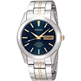 Gents Two Tone Seiko Quartz/Battery Watch on Stainless - Best Reviews Guide