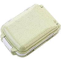 Preisvergleich für Tragbare Pillendose für Tasche, Geldbeutel, Pillendose, Vitamin-Box für den täglichen Gebrauch oder auf Reisen