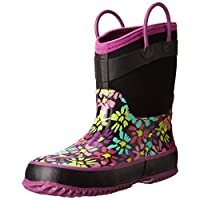 Western Chief Kids Cold Rated Neoprene Boot, Daisy Shower, 3 M US Little Kid