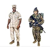 United States Marine Corps (USMC) And Navy Uniform Regulations - Illustrated (English Edition)