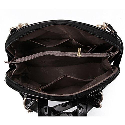 versione coreana del sacchetto di singolo e doppio spalla/La signora duplice uso zaino/Collegio di borse da viaggio di modo del vento-A A