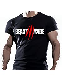 Beast Mode - Camiseta deportiva para hombre
