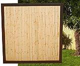 """Bambuszaun""""Koh Samui"""" mit 120 x 120cm, Bambuswand Trennwand Sichtschutz Sichtschutzwände Bambuszäune"""