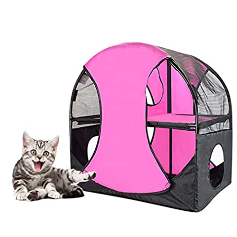 Igloo Chat,Legendog Cat House Multifonctionnel Détachable Cat Catable Tunnel Cat Condo Shelter Toy for