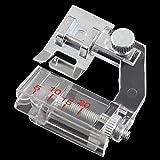 Dealglad® verstellbarer Schrägband-Nähfuß für Haushaltsnähmaschinen