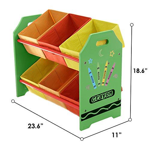 Kiddi Style Cajas Almacenaje Juguetes - Madera - Par