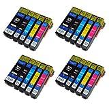 20 kompatible XL Druckerpatronen mit Füllstandsanzeige für Epson Expression Premium XP-510 XP-600 XP-605 XP-610 XP-615 XP-700 XP-710 XP-800 XP-810 Patronen kompatibel zu T2621 T2631 T2632 T2633 T2634