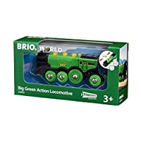 BRIO World - Big Green Action Locomotive