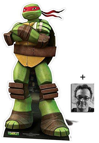 nt Ninja Turtles Mini / Klein Pappfiguren / Stehplatzinhaber / Aufsteller - Nickelodeon Series Enthält 8X10 (25X20Cm) starfoto ()