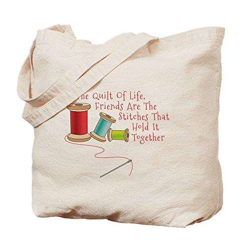 CafePress-Quilt of Life-Leinwand Natur Tasche, Reinigungstuch Einkaufstasche M khaki -