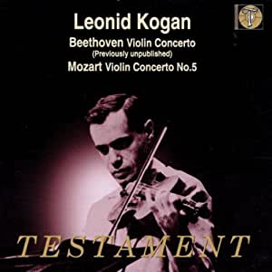 Beethoven / Mozart - Concertos pour violon