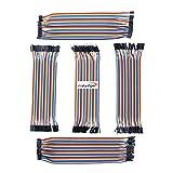 Hiletgo DuPont filo tagliere ponticello 20 cm lunghezza 2.54 mm/2.0 mm cinque tipi assortimento kit (confezione da pezzi)