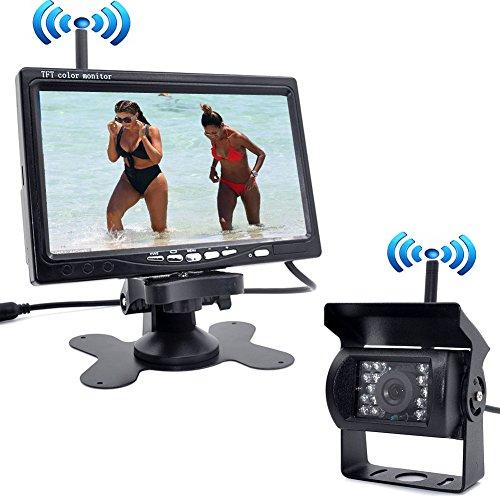 Für Tv-halterungen Rv (Auto Wayfeng WF® Fabrik Verkauf Neue Drahtlose Auto Monitor 7