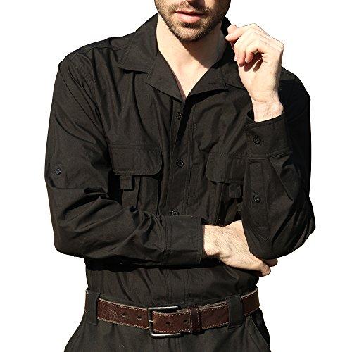 seibertron-pro-waterproof-water-repellent-long-sleeve-lightweight-tactical-shirt-l-black