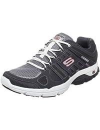 Skechers Glide 51510 NVGY - Zapatillas de fitness para hombre, color gris, talla 45